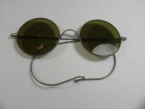 Vintage 1930s Marked Willson Safety Sunglasses Lennon #2