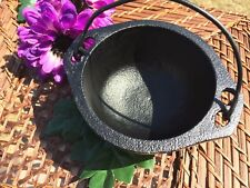 Cast Iron Cauldron 6-Inch (smudge, incense, altar, offerings)