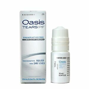 Oasis TEARS - PF Preservative-Free Lubricant Eye Drops Relief For Dry Eyes,...