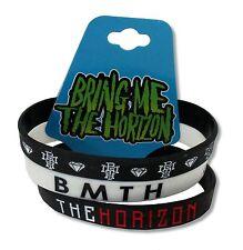 Bring Me The Horizon Umbrella Black Silicone Wristband New Official Wrist Band