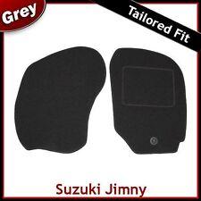 SUZUKI JIMNY montato su misura moquette tappetini GRIGIO (1998 1999 2000 2001 2002...)