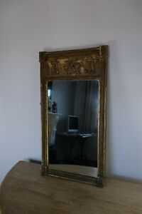 neoclassical gilt pier mirror