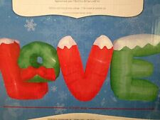 9 Foot LOVE Sign Airblown Inflatable Outdoor Christmas Decor Valentine's Day
