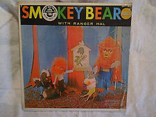 1960's SMOKEY THE BEAR WITH RANGER HAL SHAW LP golden label 203,jackson weaver