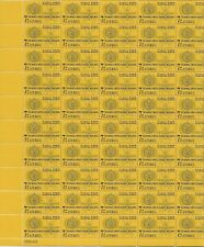 Canal Zone 1962 Malaria Airmail 7 cent sheet of 50, Scott #C33, Mint NH