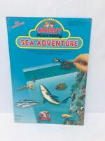 Uniset Picture Making Sea Adventure set Press & Peel Vinyl Figures Toy Vintage