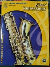 Band Expressions for Tenor Saxophone Book 1 New