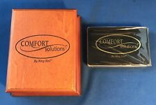 vintage comfort solutions playing cards by King Koil w/ wood box
