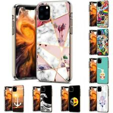 Thin Gel Design Protective Phone Case for Apple iPhone 11 Pro Max,Marble Print