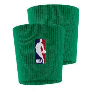 NIke Elite NBA Basketball On Court Wristbands Set of 2 Boston Celtics Green Pair