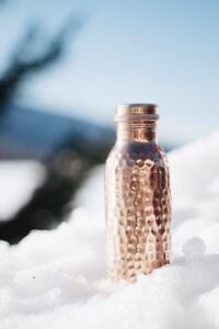 Copper Water Pot Jug storage Bottle for Ayurveda Health Benefit Copper Vessel