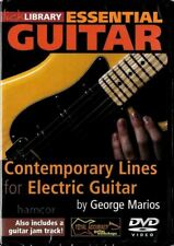 Contemporary Lines for Electric Guitar Lick Library DVD