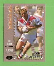 .1994 MASTERS RUGBY LEAGUE CARD #69  IAN HERRON, ST GEORGE DRAGONS