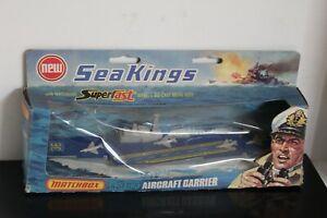 QTY 4 VINTAGE MATCHBOX SEAKINGS K-301/K-304/K-306/K308 Boxed, Mint