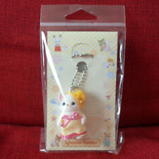 Sylvanian Families CHIHUAHUA KEY HOLDER YELLOW DRESS Epoch Calico Critters