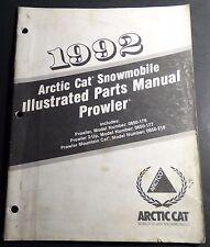 1992 Arctic Cat Prowler Snowmobile Parts Manual P/N 2254-740 (128)
