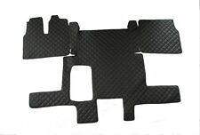 2008 ONWARDS TAILORED RUBBER CAR MATS WITH GREY TRIM FOR MAN TGX TRUCK 2603