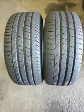 [2] 245 35 20 91Y Pirelli Pzero Tires  No Repairs DOT 1912 7-8/32nds