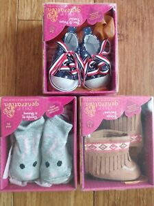 OUR GENERATION  Moccasins Boots Sneakers Lot Brand New