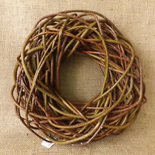 Round Natural Willow Wicker Wreath Home Wedding Easter Christmas Decoration 30cm