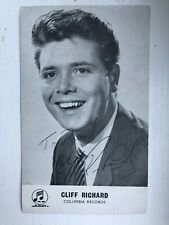 More details for hand signed sir cliff richard early columbia records publicity photo 2
