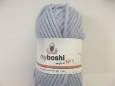 Wolle zum Stricken myboshi No 1 Fb 156 / eisblau ( 500 gr )