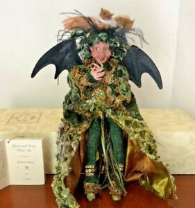 """Mark Roberts Halloween """"Green with Envy Witch 51-82000"""