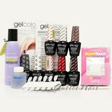 OPI GelColor Soak Off - Icons Intro Starter Kit LED UV Base Top Gel Color SET