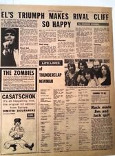 JIMMY McCULLOCH THUNDERCLAP NEWMAN 'life lines' 1969  ARTICLE / clipping
