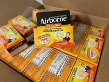 Airborne Effervescent Tablets, Zesty Orange 10 count $ Same Day Shipping $