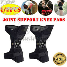 Power Lift Joint Support Knee Brace Pad Rebound Spring Force Running Leg Band