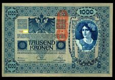 AUSTRIA 1000 1,000 KRONEN 1902 BIG NOTE  UNC