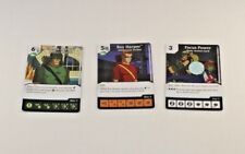 DC Dice Masters Green Arrow & Flash Archers Monthly SET LOT of 3 OP PROMO Cards