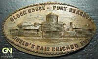 1934 Chicago World Fair Elongated Token  --  MAKE US AN OFFER!  #O4617