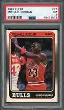 1988 89 Fleer #17 Michael Jordan PSA 7 NM