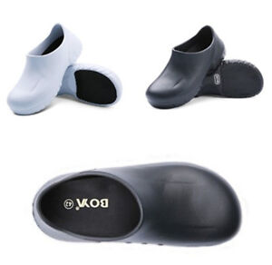 Women Men Non-Slip Safety Kitchen Doctor Nurse Loafers Water Oil Resistant Shoes