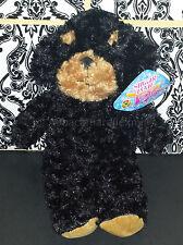 (1) Sugar Loaf Plush Toy -Gamer Green- KellyToy Black Brown Rottweiler Puppy Dog