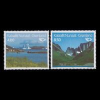 Greenland 1995 - Northern Edition Landscape Mountains Nature - Sc 289/90 MNH