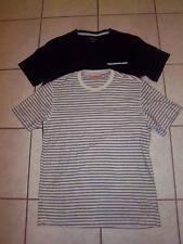 New - 2 Men's Dressy T-Shirts Small & Large - Adam Levin Runs Small & Northwest