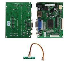 HDMI VGA 2AV Reversing Driver board work for 7inch AT070TN92 800x480 lcd display