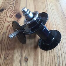 Phil Wood High-Flange Track Hubs Hub Set Front & Rear 32h Black Fixie Fixed Gear