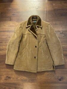 McGregor Vintage Mens Pile Liner Corduroy Jacket Coat Size 42 Made In USA