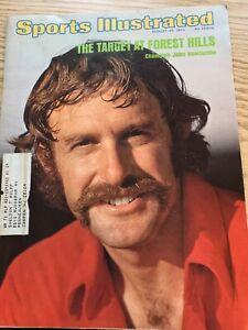 Sports Illustrated August 26, 1974 John Newcombe VG