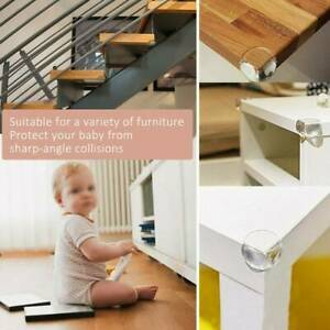 Clear Baby Safety Child Proof Table Desk Corner Edge Protector Guard Cushions