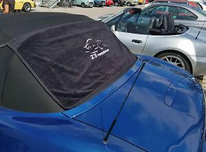 BMW Z3 Roadster Heckscheibentuch bestickt + Befestigungskit