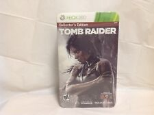 XBOX 360 - Tomb Raider Collector's Edition - Brand New & Factory Sealed