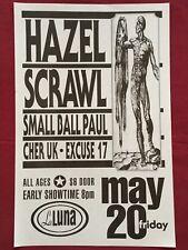 HAZEL Original Concert Poster Gig Flyer Portland