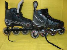 Tour Fishbone FB-425 Lite Inline Roller Hockey Skates Sz 7 (40 EU)