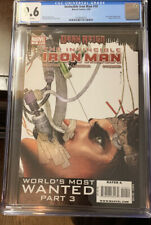 INVINCIBLE IRON MAN #10 CGC 9.6 - First Appearance Rescue, Variant, Endgame NM+