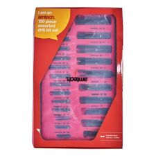 150pc Micro Twist Drill Set w/ Storage Case - 0.4-0.9mm (10pc), 1.0-3.2mm (5pc)